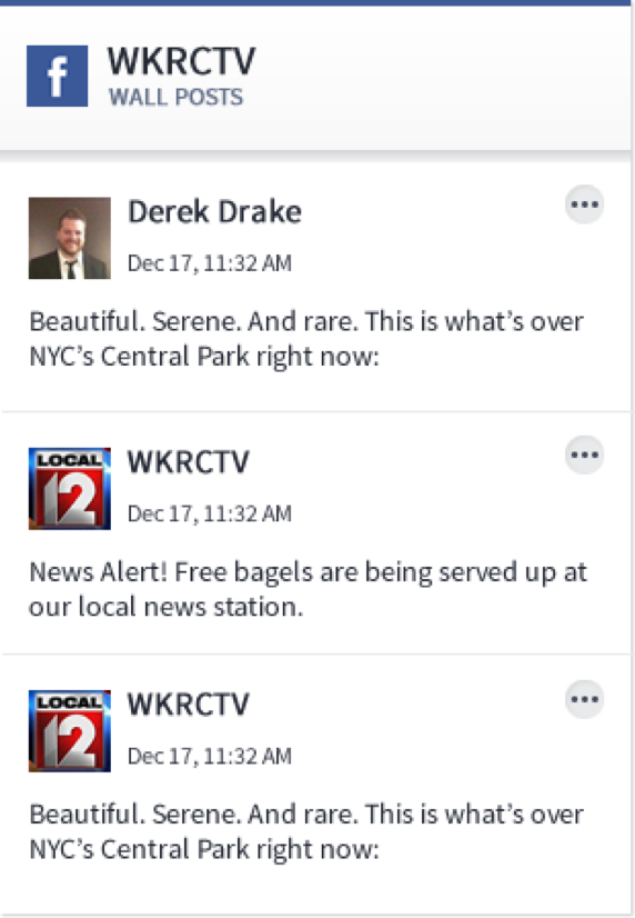 Social News Desk Facebook Feed