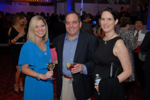 Our Tampa team members enjoying Martinis for Moffitt