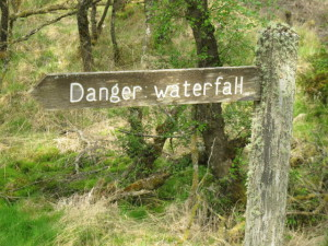waterfall danger