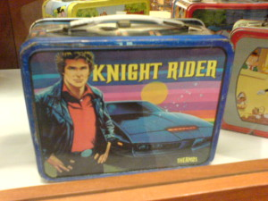 knight rider lunchbox
