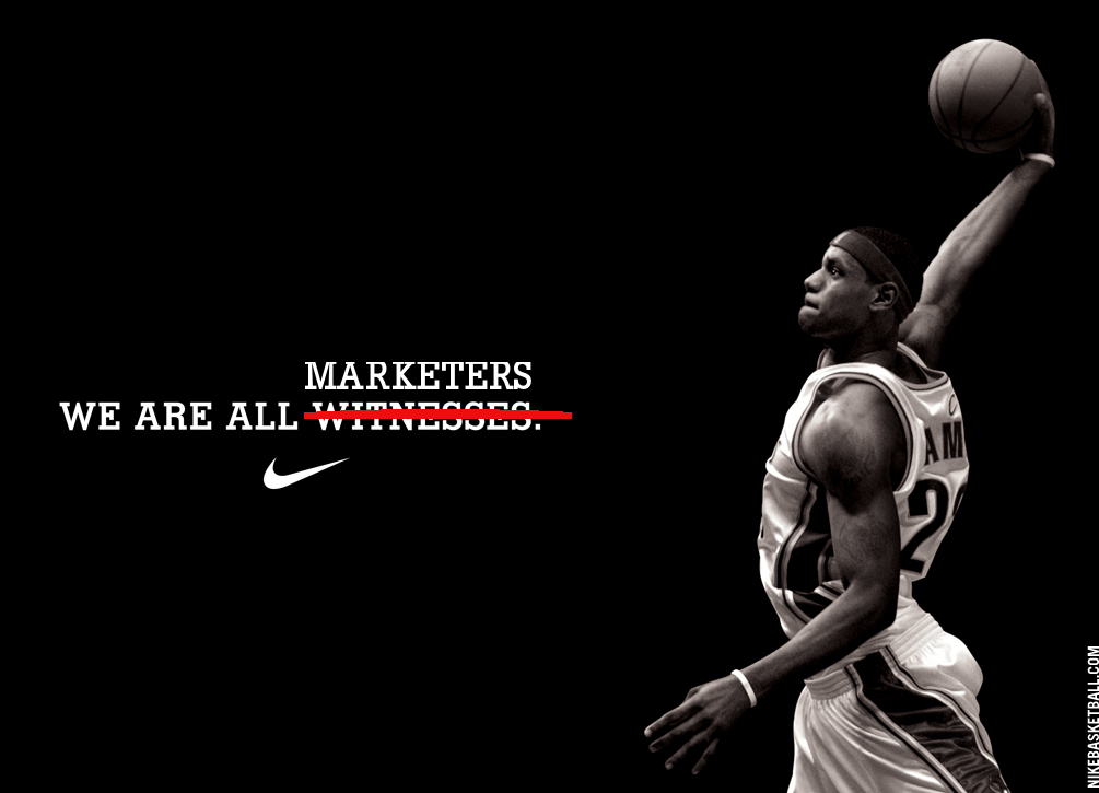 Image property of Nike and Lebron. Total parody.