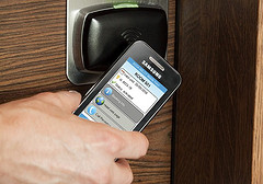 NFC tech could change many industries, from payment to hotel check-in. Image credit: Sam Churchill