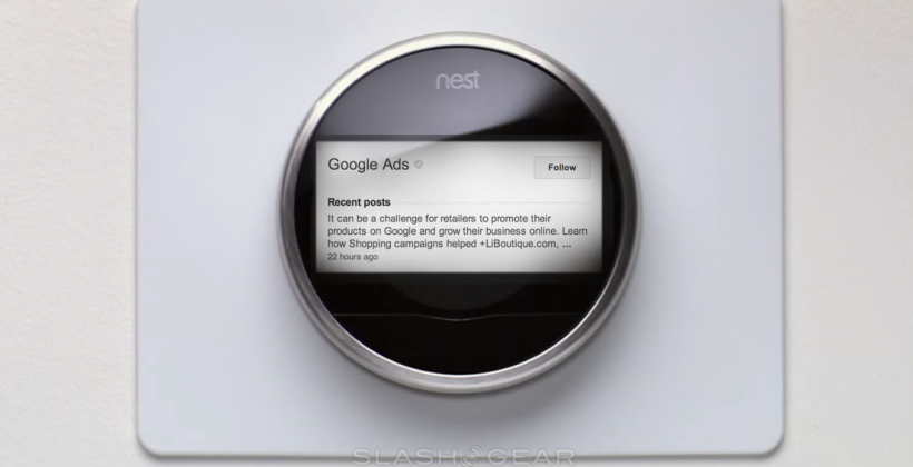 Nest ad, from Slash Gear http://www.slashgear.com/can-google-make-us-want-nest-ads-21329923/