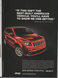 This Jeep Grand Cherokee SRT8 ad is lacking in digital power