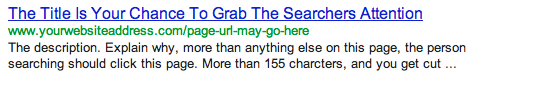 search engine result explained